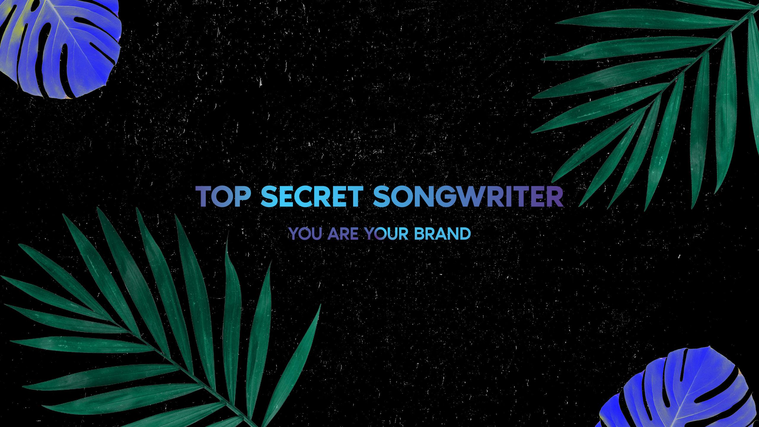 Topsecretsongwriter